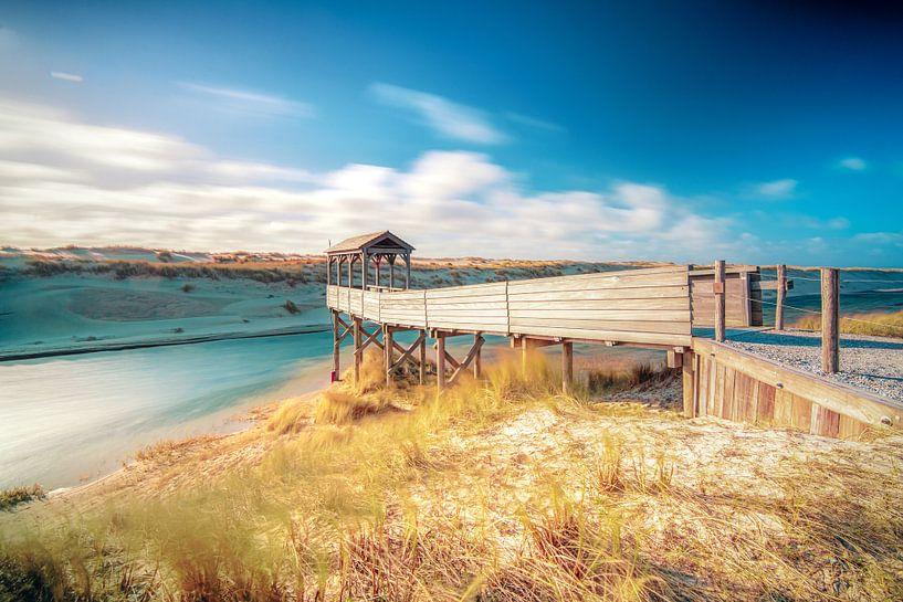 Uitkijkpunt aan de Hollandse kust bij Petten van Fotografiecor .nl