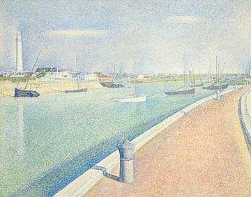 Der Kanal der Kieswege, Georges Seurat