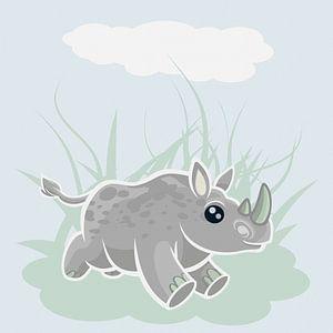 Rhino galopperen