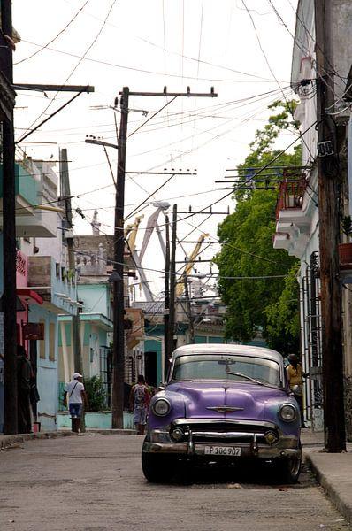 Straatbeeld - Havana, Cuba van Astrid Meulenberg