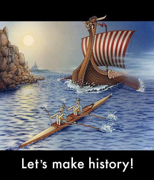 Let's make History! von Stan Groenland