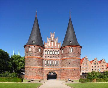 Holstentor, Lübeck, Schleswig-Holstein, Deutschland, Europa
