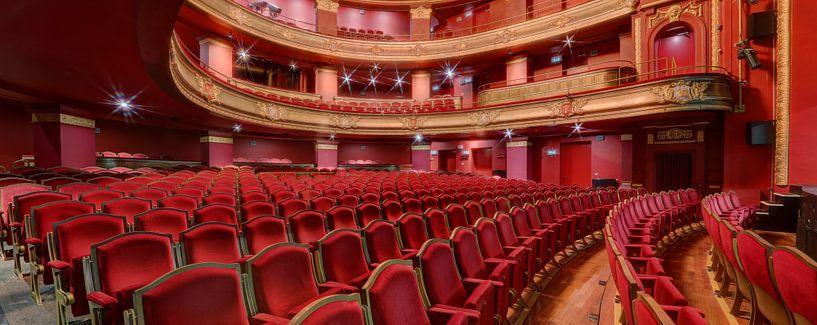 Theaterzaal Stadsschouwburg Haarlem van Huub Keulers