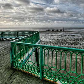 St Anne's Pier, Lytham St Annes, Lancashire, Engeland, van Rob Severijnen
