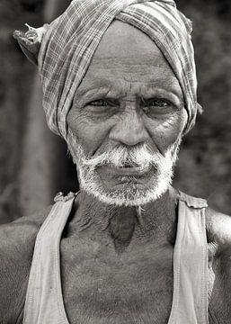 Man uit Odisha, India van Affectfotografie