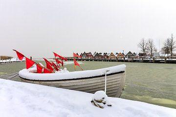 Hafen von Ahrenshoop am Bodden im Winter von Rico Ködder