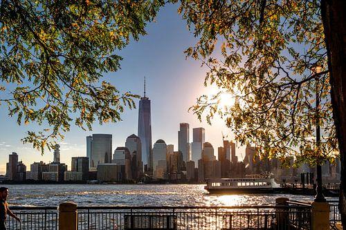 Sonnenaufgang  in New York van