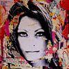Sophia Loren during autumn van Michiel Folkers thumbnail