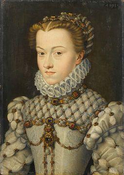 Elisabeth d'Autriche, François Clouet sur