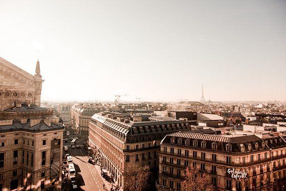 Uitzicht over Parijs - Skyline