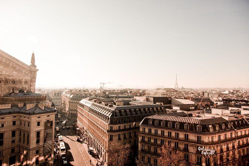 Uitzicht over Parijs - Skyline van Stefanie van Beers