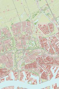 Kaart vanSchiedam