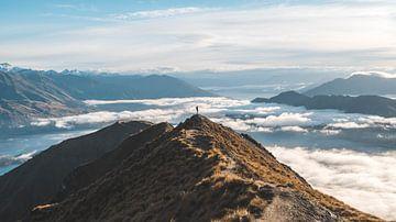 Silhouet op Roy's Peak van Sander Lenaerts