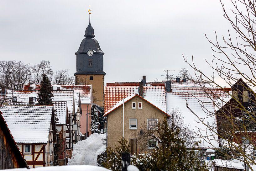 Der Kirchturm von Herleshausen von Roland Brack