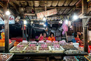 Thailand, markt van Keesnan Dogger Fotografie