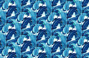 Matinique Banana Leaf Blue van