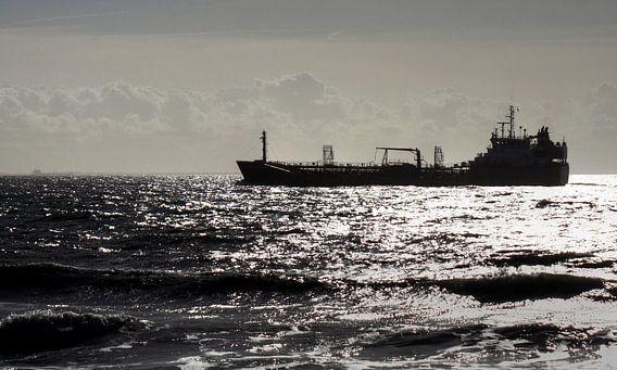 Scheepvaart voor de kustlijn