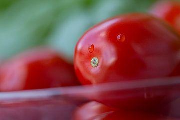 Tomaten en basilicum van Martina Weidner