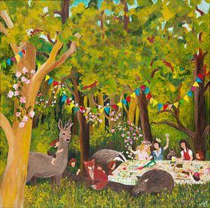 Kiezfest im Märchenwald von Dorothea Linke