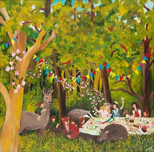 Kiezfest im Märchenwald van Dorothea Linke