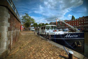 Historische binnenhaven 't Bassin Maastricht von Dolf Conraads