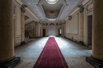 Eingangshalle eines Schlosses von Matthis Rumhipstern