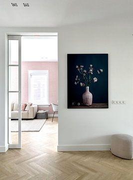 Kundenfoto: Stilleben mit Astrantia-Zeeuws-Knoten von Karin Bazuin