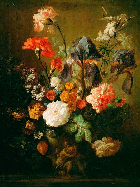 Bloemenvaas, Volger van Jan van Huysum van Meesterlijcke Meesters