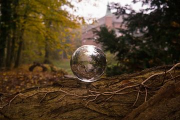 Kristallkugel im Schloss von Betty Heideman Fotografie