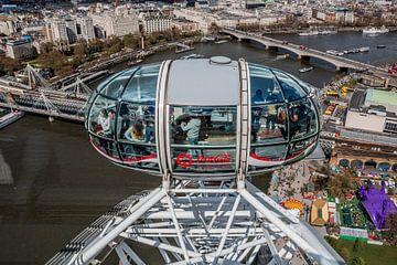 Londen Eye van Annette van Dijk-Leek
