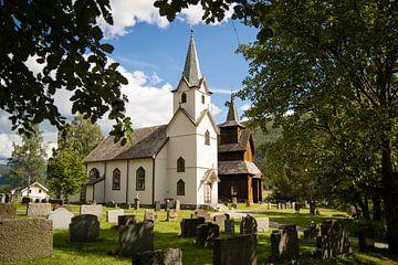 Torpo Stavkyrkje (staafkerk) in Noorwegen von Marie-Christine Alsemgeest-Zuiderent