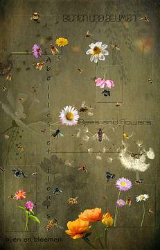 Bienen und Blumen von Carla van Zomeren