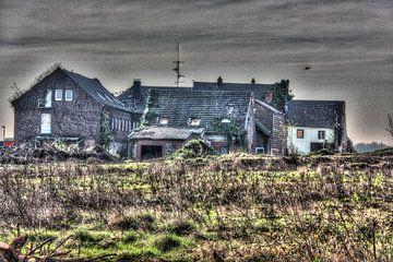 Das verlassene Dorf von Herman van den Berg