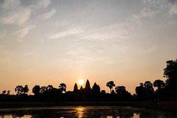 Ankor Wat sunrise van Niels Remigius