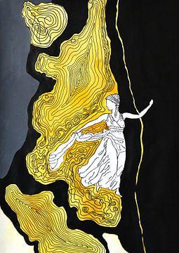 Terpsichore - Muze van de dans van Katarzyna Strumis