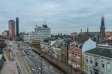 Skyline Tilburg Spoorlaan van Freddie de Roeck