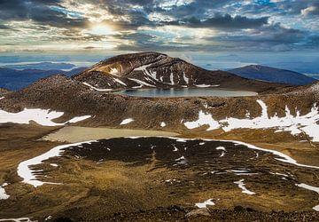 Tongariro Alpine Crossing Nieuw  Zeeland van Greet Thijs