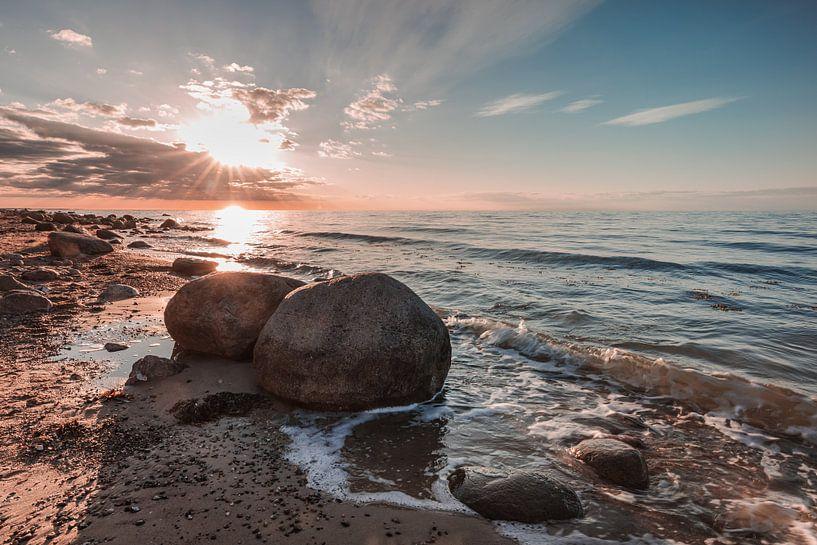 Baltic Sea Boulders von Ursula Reins