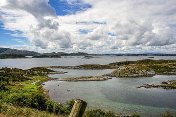 Fjord van Noorwegen van Remco de Zwijger