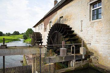 Wassermühle an der Geul in Gulpen, Nord-Limburg von Ger Beekes
