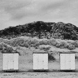 strandhuisje van Maja Ooms