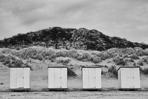 strandhuisje van