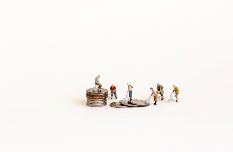 Ältere Menschen und Geld von Sandra Perquin