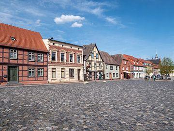 Häuser in der Altstadt von Röbel an der Mecklenburgische Seenplatte von Animaflora PicsStock