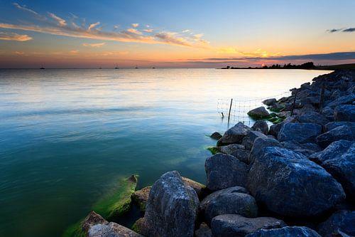 Rust aan het IJsselmeer van