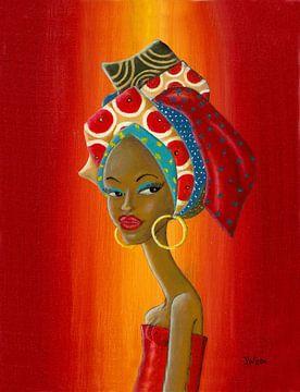 Sissy - Afrikanischer Kopfschmuck von Jan Wiersma