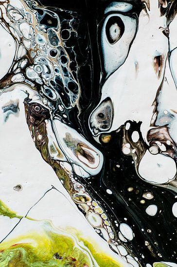 Inkt Geel en zwart van Edith Lüthi