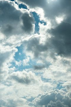 Wolken II von Eva Overbeeke