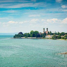Friedrichshafen in de zomer van Martin Wasilewski