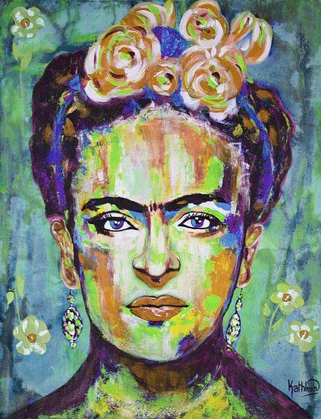 """Frida """"Blumen von Kathleen Artist Fine Art"""